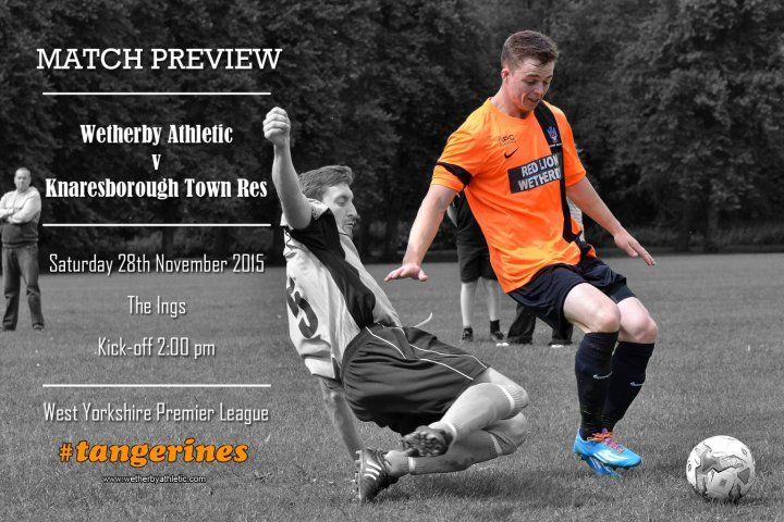 MATCH PREVIEW: Tangerines Take On Knaresborough Town Reserves. http://www.wetherbyathletic.com/news/match-preview--knaresborough-town-res-1531874.html