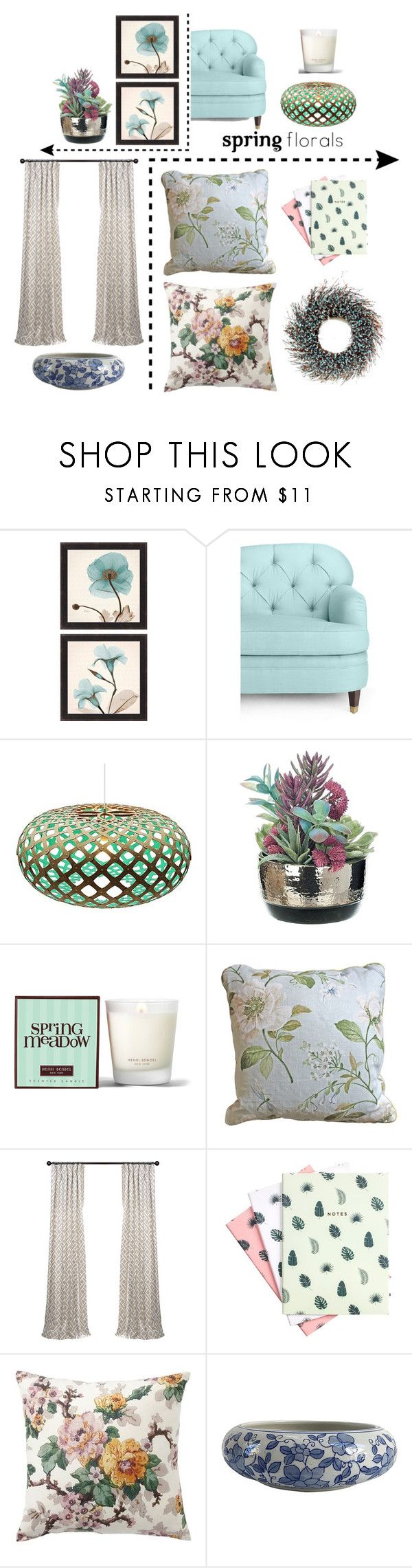 """""""Make Your Home Bloom"""" by vale14m ❤ liked on Polyvore featuring interior, interiors, interior design, home, home decor, interior decorating, Kate Spade, David Trubridge, Henri Bendel and Hadron Epoch"""