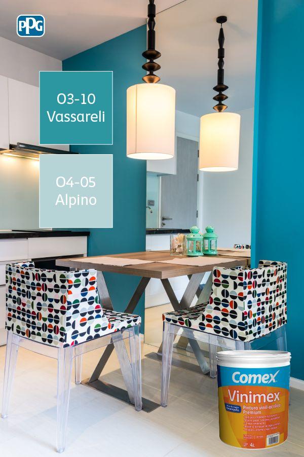 Vinimex te ofrece buen rendimiento y colores vibrantes y más duraderos. ¡Disfrútalos por más tiempo en tu hogar! #ProductosComex #Comex #ComexLATAM #Home #Decor #Ideas #Colores #Decoracion