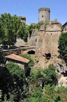 Castello Borgia castle, 15th to 16th century, Nepi, Lazio region, Italy