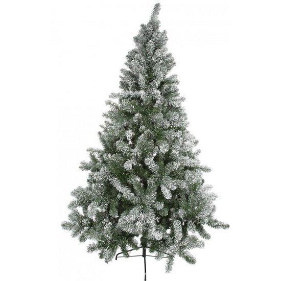 Kerstboom met sneeuw 150 cm. Sierlijke kunst kerstboom met besneeuwde takken. De…