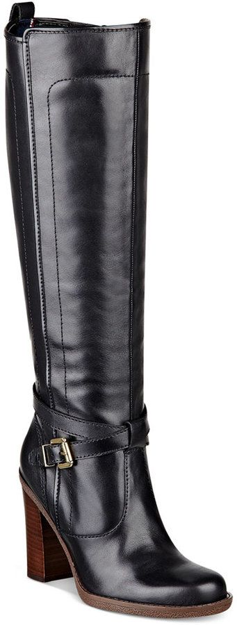 Tommy Hilfiger Women's River Tall Dress Boots