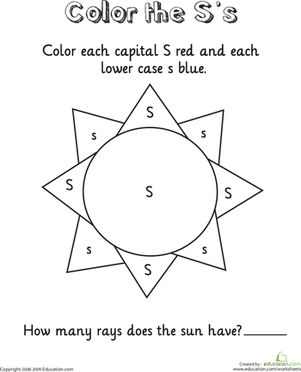 1000+ images about Letter S Worksheets on Pinterest | Alphabet ...