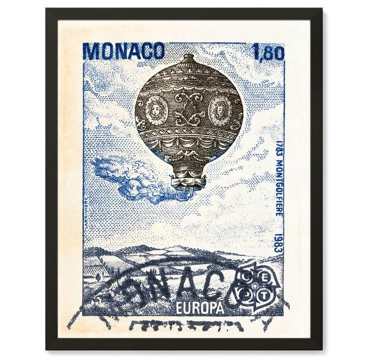 Esta hermosa Europea sello pared lámina fue creado de una estampilla vintage de Mónaco escénica. Como diseñador gráfico, he creado una obra de arte de alta calidad de este globo de aire caliente estampilla que funcionaría bien en cualquier decoración. La decoración de la pared ideal para un coleccionista de sellos, alguien que le encanta viajar o cualquier persona que aprecia una buena obra de arte.  Detalles de la impresión del sello arte / / * Este arte sello de globo de aire caliente…