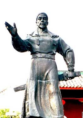 Part II. Hong Xiuquan (1814-1864), caught in the grip of madness, experienced countless revelations and heavenly visitations, issuing doctrines and decrees. He propelled China into an uprising against Manchu rule, which was incompetent, corrupt, brutal, and a crushing burden endured by China's people; the Taiping soon proved as bad if not far worse. The Taiping Rebellion was a horrific civil war in which a quarter of China;s population perished.