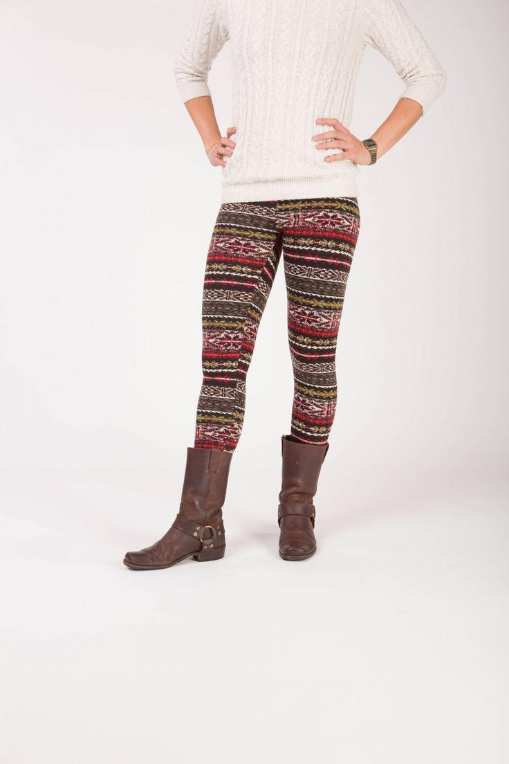 Adair - Winter warme legging met fleece