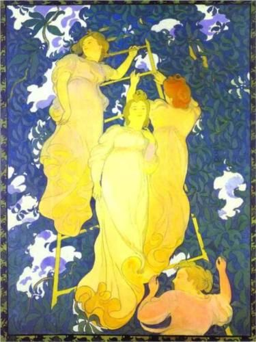 The Ladder in the Foliage - Maurice Denis
