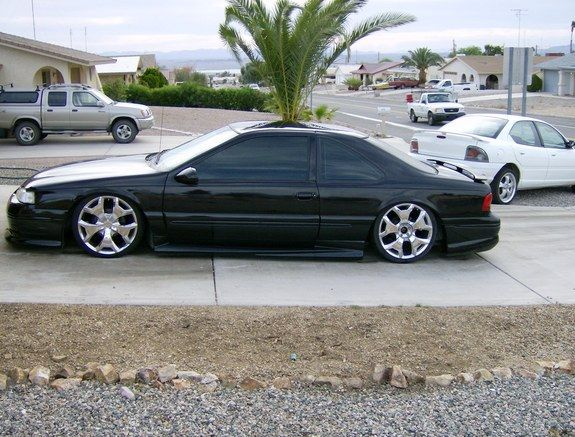 Slammed Thunderbird 1997 Ford Thunderbird Lake Havasu
