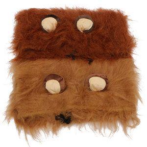 Leeuwenmanen voor honden met oortjes Vanaf nu kan uw hond ook feestjes meevieren! In minder dan een minuut is uw hond omgetoverd in een angstaanjagende (en schattige) leeuw. Met deze kostuumsmaakt...