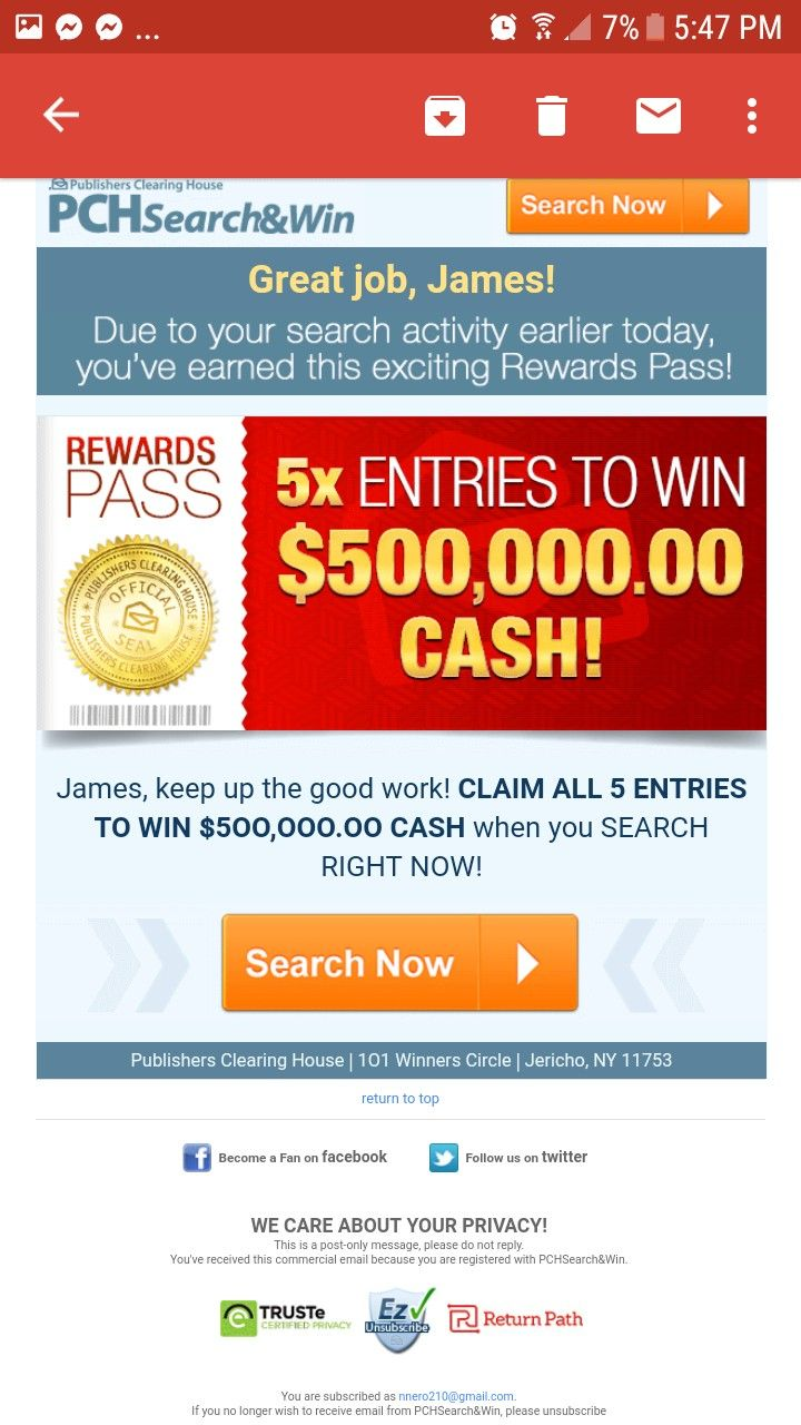 Pin by Nnero on Publisher clearing house in 2019 | Winning