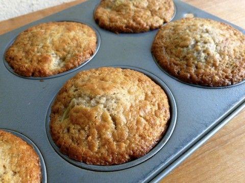 Just Baked Skinny Kiwifruit Muffins
