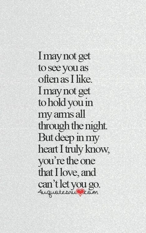 Love Quote...not yet, but it will be this way after we get married! :-)