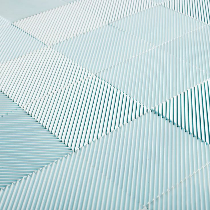 More from English alternative surface producer Heliot & Co. - a close-up of Louvre in blue.