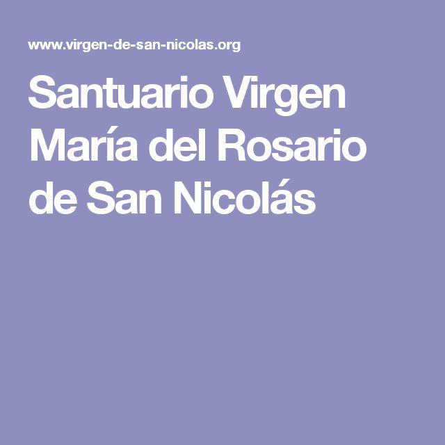 Santuario Virgen María del Rosario de San Nicolás