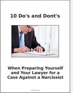 Dating a narcissistic man quiz