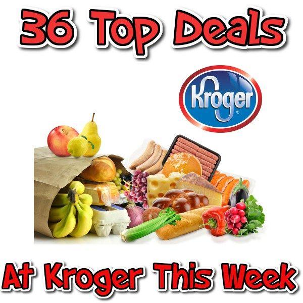 Kroger 36 Top Deals of the Week 8/31 - 9/6 - http://couponsdowork.com/kroger-grocery-store/kroger-36-top-deals-of-the-week-831-96/