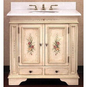 19 Best Hand Painted Bathroom Vanities Unique Designs Images On