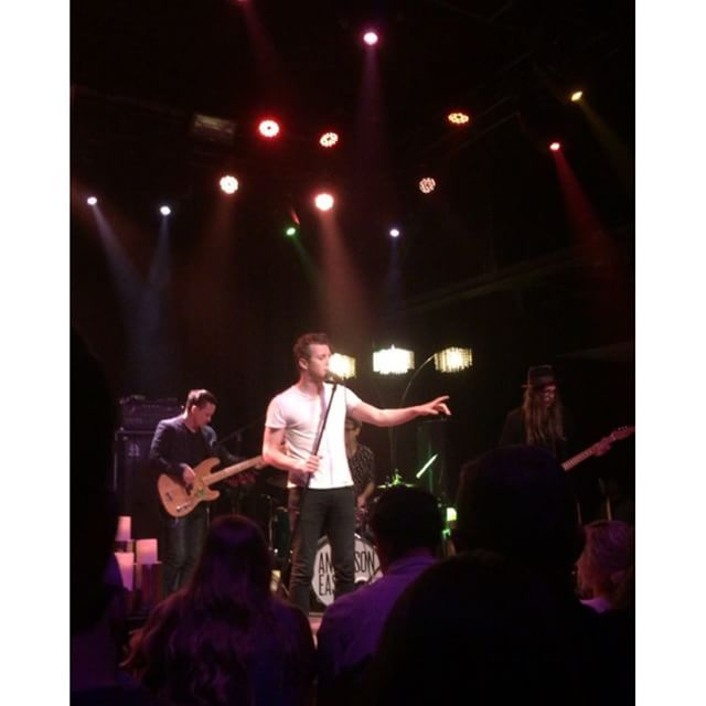 Anderson East & Andrew Combs performed on Friday at Terminal West