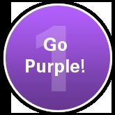 Wear purple on Sept. 21, Alzheimer's Action Day; then turn Facebook and Twitter purple by changing your profile picture to our END ALZ icon & telling your friends to do the same.  Go purple!