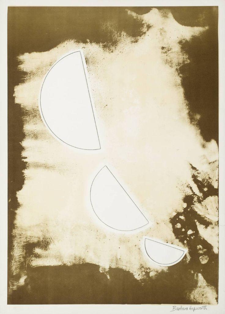 Dame Barbara Hepworth, Desert Forms 1971