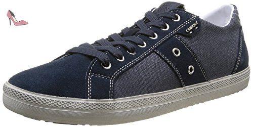 Geox U Smart D, Baskets mode homme - Bleu (Navy), 42 EU - Chaussures geox (*Partner-Link)