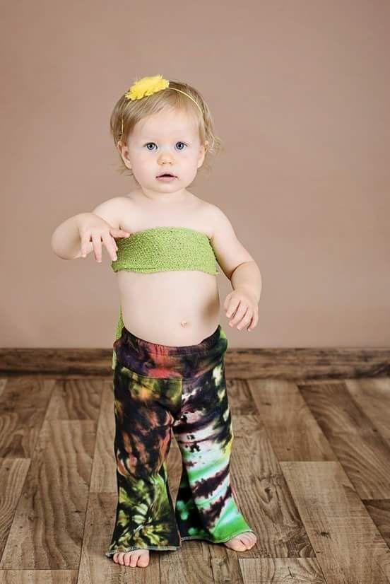 9af929fc00d796 Toddler tie dye bell bottoms