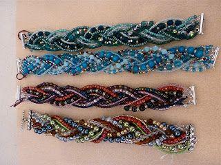 Anatomy of a Beaded Braided Bracelet