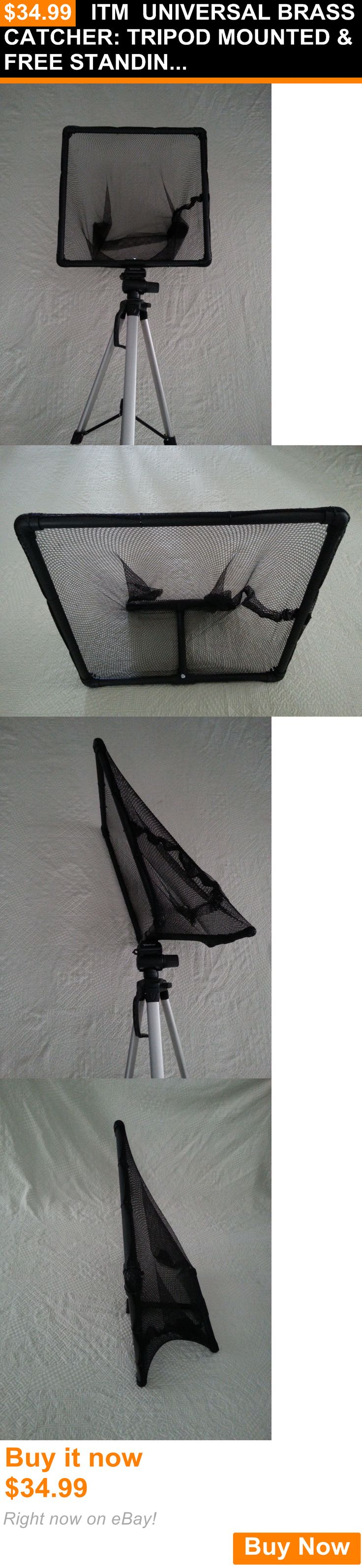 Other Hunting 383: Itm Universal Brass Catcher: Tripod Mounted And Free Standing BUY IT NOW ONLY: $34.99