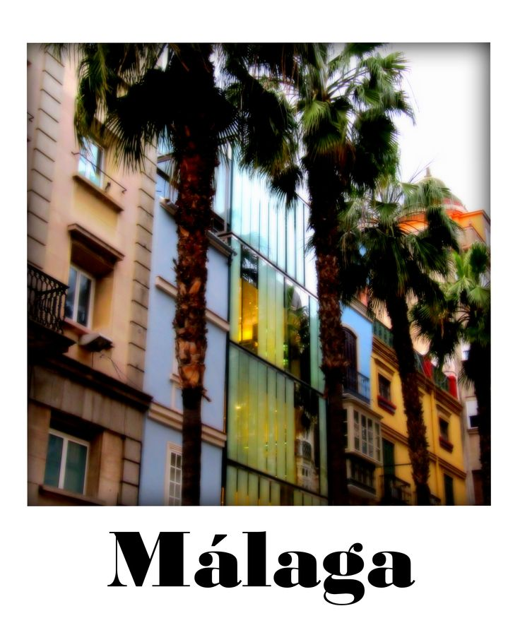 MALAGA  [from the SPAIN/ROAD-TRIP polaroid shots series]