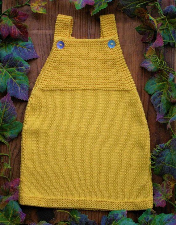PDF-Vorlage / Cute Knit Rezept und Douro Baby Dress   – Ame