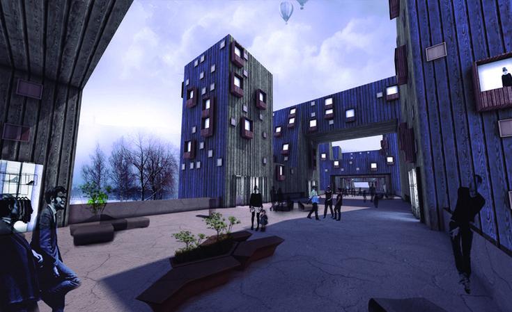 kupio, finland regeneration masterplan by ooiio architecture