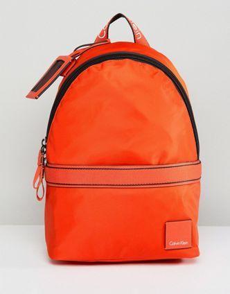 ck orange backpack