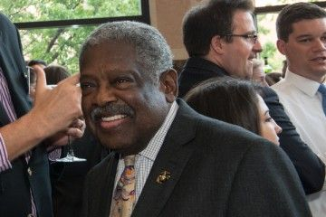 Fisk alum Rhode Island Superior Court Judge Walter R. Stone of Bristol, a civil rights activist and one of Rhode Island's top trial lawyers before his elevation to Superior Court, where he served as one of the very few African-American judges in the state