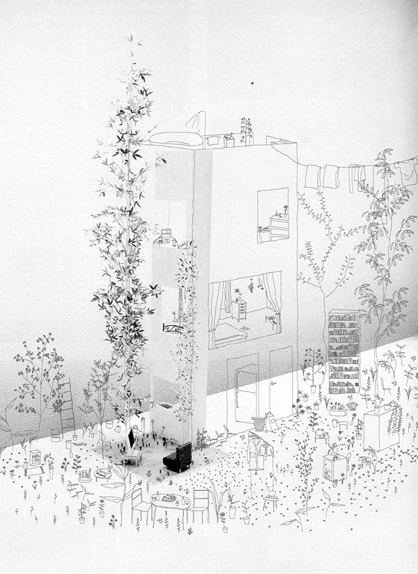 Junya Ishigami | recherches, lectures, critiques, explorations et réconciliations des potentiels narratifs de la ville.