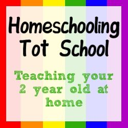 I don't want to homeschool, but this site has lots of great suggestions for activities for a two year old...