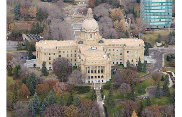 The Alberta Legislature Building in Edmonton #yeg