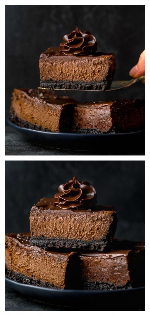 Easy Chocolate Cheesecake Bars Recipe Recipies Chocolate