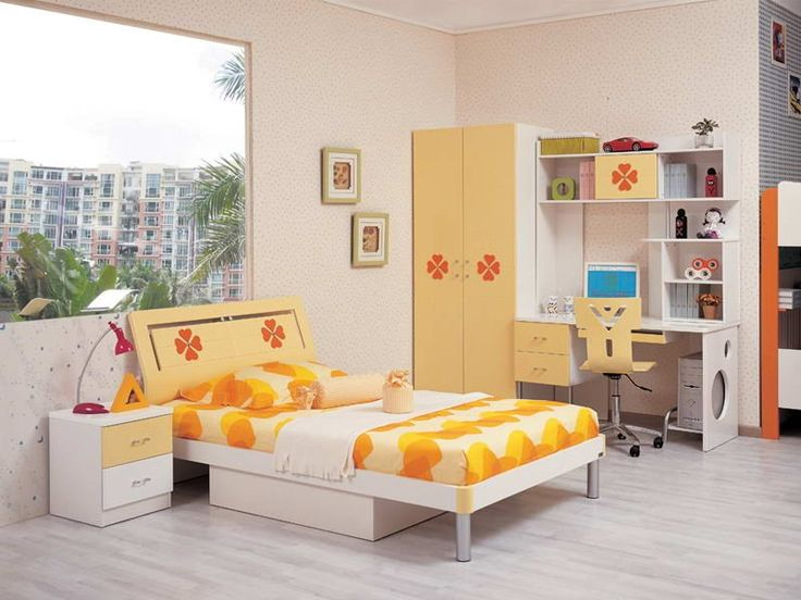 Modern Asian Style Bedroom Furniture Sets For Kids With White Sharp Yellow Themes Modern Japanese Bedroom