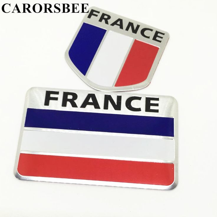 CARORSBEE Hot aluminum FRANCE National Flag Car Sticker Auto Styling motorcycle fuel tank stickers Decal motocross accessories. Yesterday's price: US $1.00 (0.81 EUR). Today's price: US $0.76 (0.62 EUR). Discount: 24%.