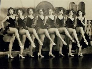 Missouri Rockets. (1930) In 1925, Russell Markert formed the Missouri Rockets, a 16-member dance line that performed before feature films at the Missouri Theater on Grand Avenue in St. Louis. Seven years later the group's performance at the opening night of Radio City Music Hall led to a permanent engagement and a name change to the Rockettes.