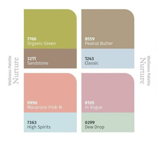 Xpresspainters Wellness Palette Painting Services Warm And Cool Colors Asian Paints
