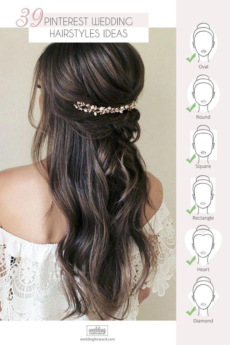 Wedding Hairstyles On Pinterest