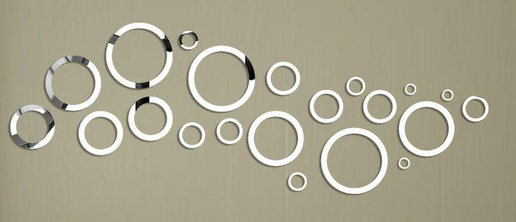 Specchi Adesivi Decorativi per Pareti dal Design Particolare   MondoDesign.it