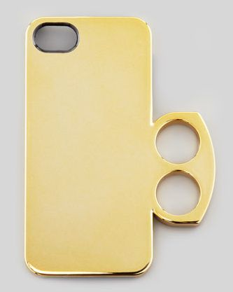 MARC by Marc Jacobs Metallic Ring iPhone 5 Case, Gold