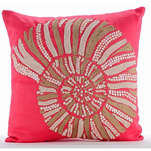 Coral Pillows Cover, Jute and Pearls Sea Shell Sea Creatu... https://www.amazon.com/dp/B016H8UVOS/ref=cm_sw_r_pi_dp_x_vi19ybPT48KKN