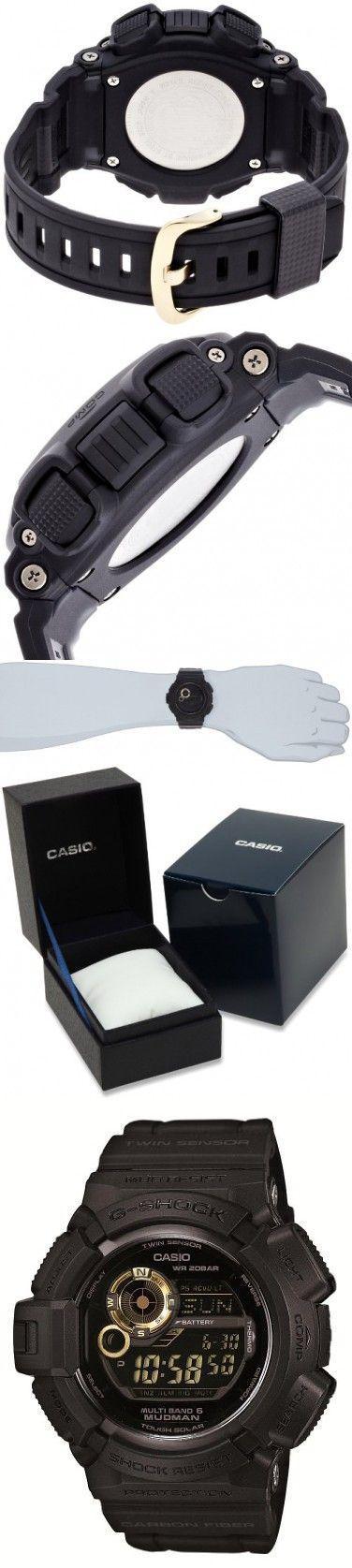 Casio G-shock Mudman Black X Gold Multiband6 Japanese Model [ Gw-9300gb-1jf ]