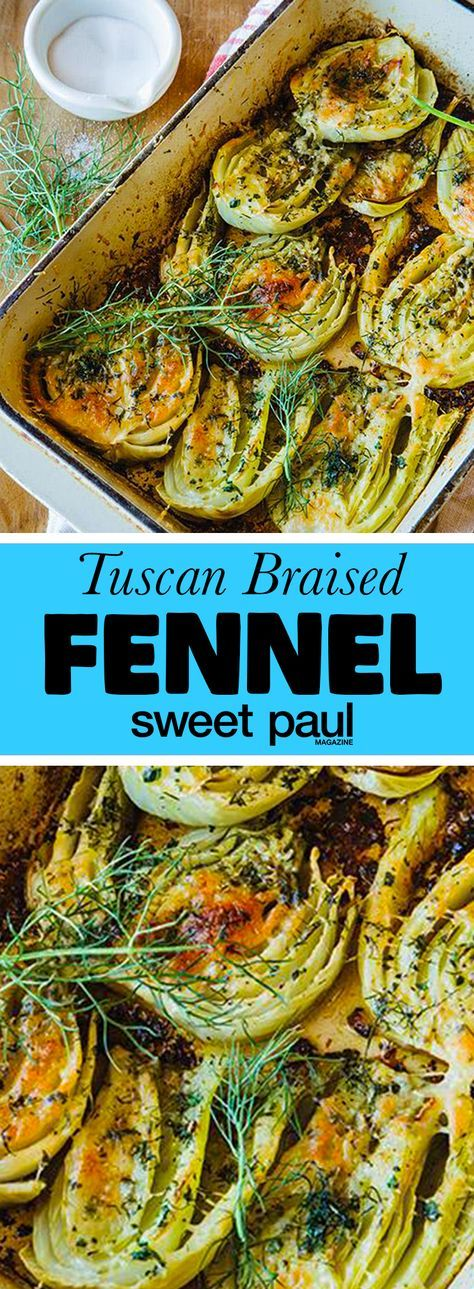 This is such a pure and simple recipe with complex flavors from the fennel and a decadent touch from the grated cheese! A classic Italian side dish!