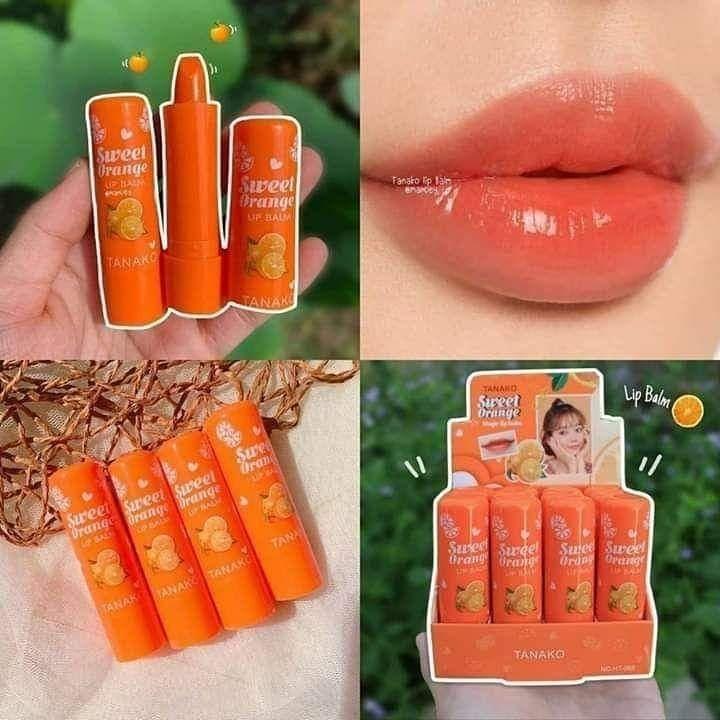 Tanako تاناكو التيلندي بالنيولك الجديد 2020 بفيتامين سي C فيتامين سي لمقاومة علامات التقدم بالسن يدعم الكولاجين ل Lipstick Makeup Beauty