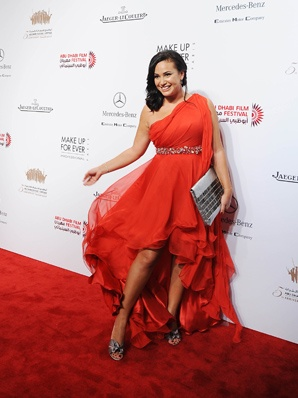 Hend Sabry in Dina Ayesh at ADFF    http://www.dinaayesh.com