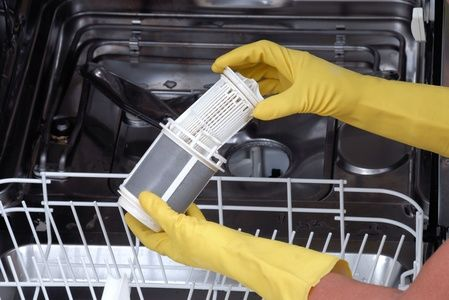 Regularly cleaning your dishwasher filter is the only way to keep your dishes sparkling after every cycle.